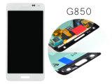 Замена LCD изготовления первоначально для альфаы G850 G850f LCD галактики Samsung комбинированной