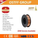 "0.9mm (0.035 ""スムーズな安定したアーク、低いはねが付いている) Er70s-6中国ミグ溶接ワイヤー"