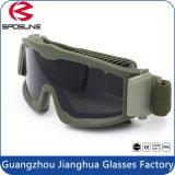 防弾耐衝撃性の戦術的な軍のゴーグルのスポーツガラス