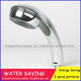 Neue Entwurf ABS runde Handdusche-Kopf-multi Funktions-Plastikhanddusche-Kopf Anti-Linestone mit Wasser, das 9L/M spart