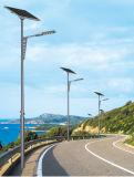 indicatori luminosi di via solari di 8m 50W LED con Soncap Ccip