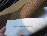 Cuir synthétique de PVC de modèle de mode pour le sofa/meubles/sac avec la résistance d'incendie