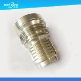 Alloggiamento di alluminio di giro della lampada di CNC per l'illuminazione del LED