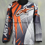 Мотоцикл сублимированный таможней Джерси, одеяние спорта мотора (MAT17)