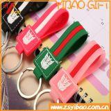 PVC Keychain de la insignia de Customed para el regalo de la promoción