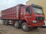 HOWO 8X4 팁 주는 사람 트럭 (필리핀, 말라위, 케냐 및 지부티)