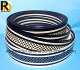 bordure foncée de PVC de plastique de bonne qualité de 12mm-90mm