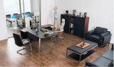 Het nieuwe Moderne Houten Bureau van het Leer (V18A)