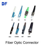 Connecteur optique du PC RPA de Sc de fibre duplex du simplex 0.9mm 2.0mm 3.0mm
