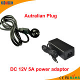 Schaltungs-Energien-Adapter des AC/DC Adapter-12V 5A