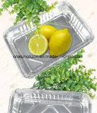 食品安全性の等級のための323*266*64mmのアルミホイルの皿