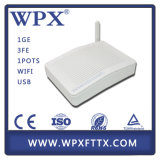 1GE 3fe WiFi GPON Ont с функциями Huawei ONU Hg8546m
