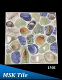 """12X12 """" 5Dの磨かれた水晶小石の床タイル1316年"""