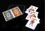 2pk cartões de jogo do caso plástico PVC/Plastic