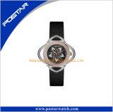Especial Bisel Suitcase Mop Shell Dial Full Diamond reloj de pulsera de las mujeres