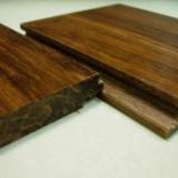 Suelo de bambú tejido hilo raspado mano