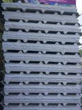 Panneau de mur et de toit de sandwich à ENV avec la tôle d'acier de couleur et isolation de mousse en vente