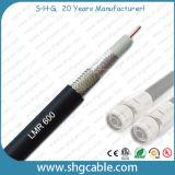 Alta qualidade 50 ohms de cabo coaxial de LMR600 RF