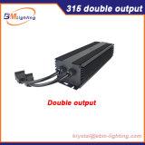 Eonboom 0~10V obscurcissant le double ballast électronique de la sortie 315With630watt CMH