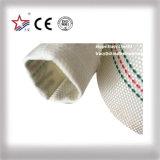 Tubo flessibile di gomma dell'acqua della copia flessibile, manichetta antincendio della tela di canapa del PVC
