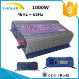 инвертор Ys-1000g-W-D-LCD связи решетки энергии ветра 1000W-LCD AC-115V/230V DC-22V-60V солнечный