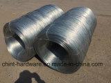L'usine de la Chine fournissent directement le fil obligatoire galvanisé Chaud-Plongé par électro de fil de fer