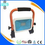 O poder superior IP65 Waterproof a luz de inundação magro recarregável Foldable do diodo emissor de luz do diodo emissor de luz de 10W 20W 30W 50W