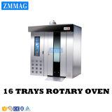 De industriële Volledige Automatische Verkoop van het Gas van de Machine van het Stokbrood van 16 Dienbladen Roterende (zmz-16M)