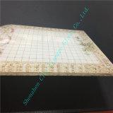 마을 정원 작풍을%s 가진 주문을 받아서 만들어진 인쇄된 유리제 박판으로 만들어진 유리 스테인드 글라스 장식 유리