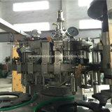 Glasflaschen-Bier-füllende mit einer Kappe bedeckende Maschine 3 in-1