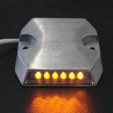 가벼운 이중 옆 황색 LED는 타전한 LED 도로 장식 못을 방수 처리한다