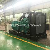potencia 600kw/750kVA que genera el conjunto con el motor diesel de Cummins