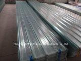 La fibre de verre ondulée de panneau de FRP/toiture transparente en verre de fibre lambrisse W171021
