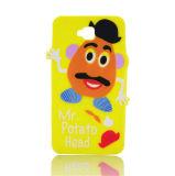 para los accesorios del silicón del iPhone, caja barata del silicón para el iPhone 5
