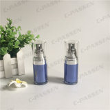 bottiglia senz'aria acrilica della lozione dello zaffiro 15ml per l'imballaggio dell'estetica (PPC-AAB-029)