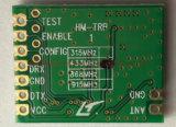 Módulo de ligação de dados UART RF de 100MW Módulo do transceptor Hm-Trp 434/470/869/915 MHz