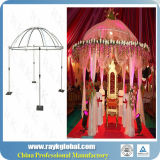 La pipe indienne de contexte de décoration de mariage et drapent en vente