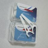 Soie dentaire en plastique de bâton de dents