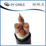 Cable de transmisión forrado de plomo acorazado subterráneo de Cu/XLPE/PVC