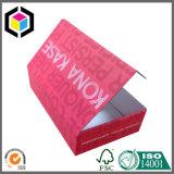 Zapatos del papel acanalado de la alta calidad que empaquetan el rectángulo para el envío
