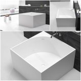 Ушат горячей ванны яичка форменный мраморный каменный Freestanding (BT170511)