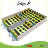 Grande parque interno do Trampoline com peças sobresselentes livres