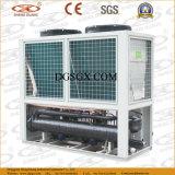 Refrigeratore raffreddato aria con il serbatoio di acqua e la pompa del mucchio