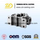 CNC do OEM que faz à máquina com ferro de molde elevado do cromo