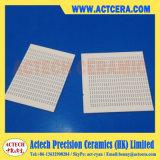 Perforazione del laser sul substrato di ceramica dell'allumina