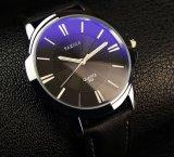 Diseño a estrenar Men&prime ocasional de lujo; Reloj lleno del acero inoxidable del reloj del cuarzo de S