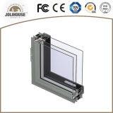 Venta directa modificada para requisitos particulares fabricación de la ventana fija de aluminio de China