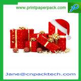عالة يطبع مجوهرات يعلّب شوكولاطة عيد ميلاد المسيح هبة ورقيّة يعبّئ صندوق