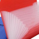 Do arquivo feito sob encomenda dos bolsos do plástico 13 dos PP dos artigos de papelaria do escritório & da escola dobrador de expansão com elástico