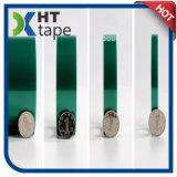 Cinta adhesiva del verde de la película de poliester con la cinta del animal doméstico del silicón